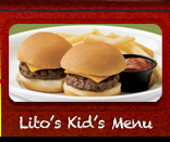 Lito's Kid's Menu